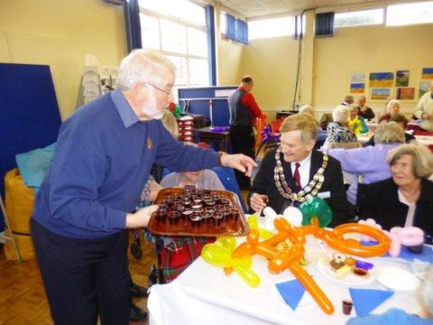 Weston Rotary  Club - Who are we?  - Fun Easter Party for the elderly, housebound and disabled