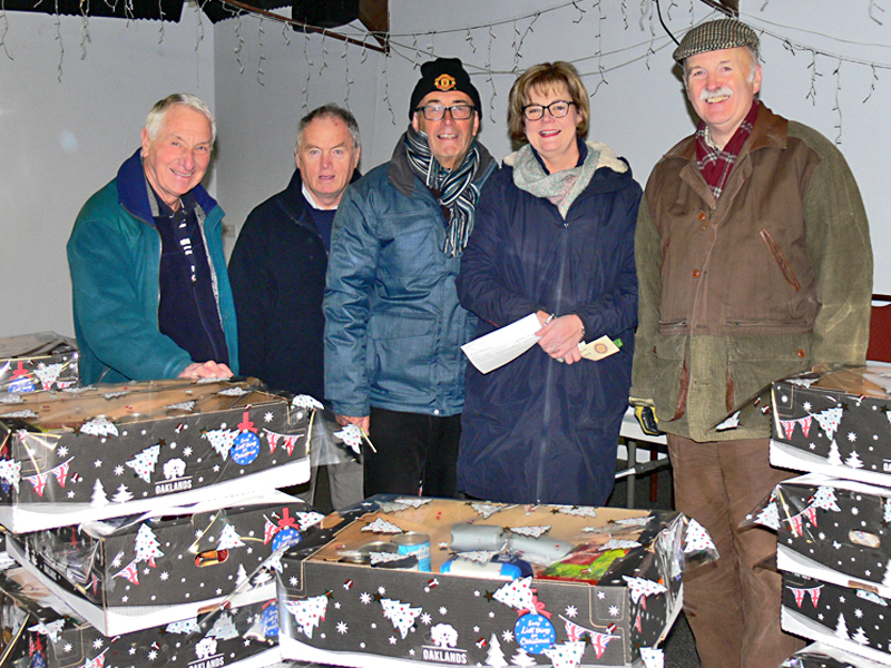 Brigg Rotary says  - Packing before Christmas