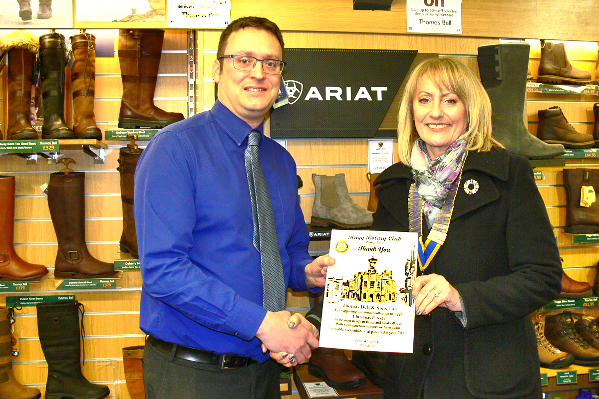 Brigg Rotary says  - Bells Country Store