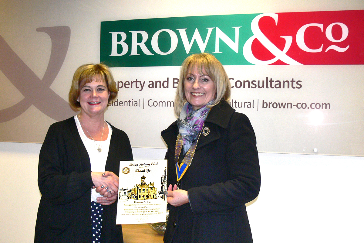 Brigg Rotary says  - Brown & Co Estate Agents
