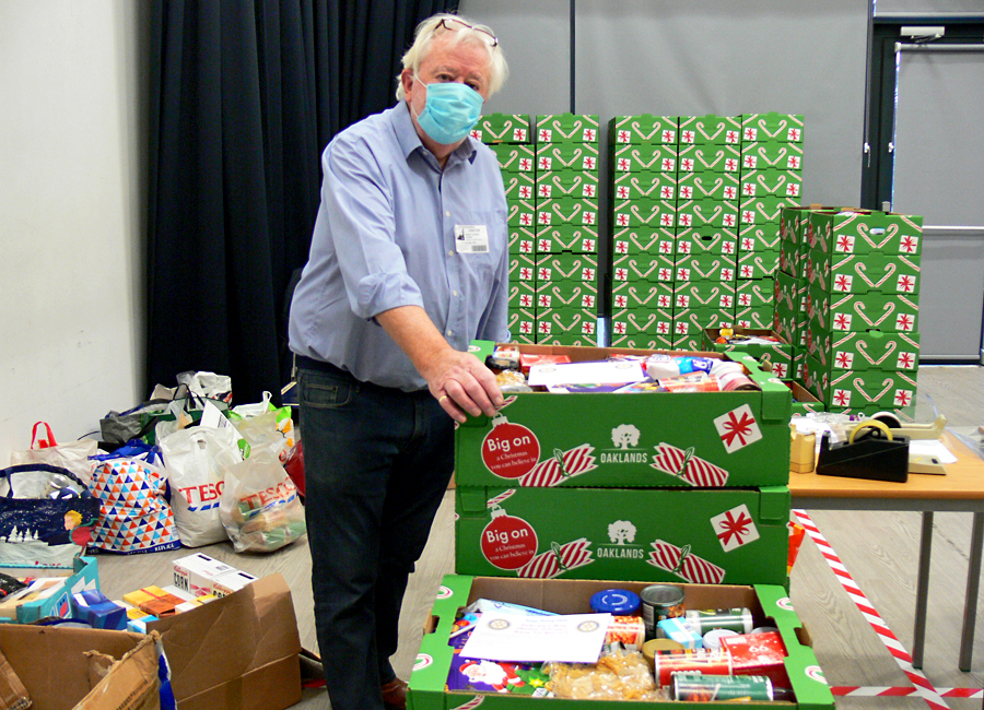 Christmas Hampers for Those in Need at Christmas -