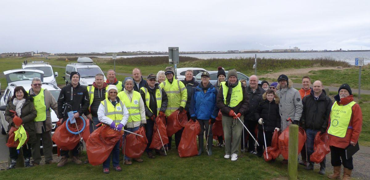 Beach Clean 2019 - Everyone who came to help