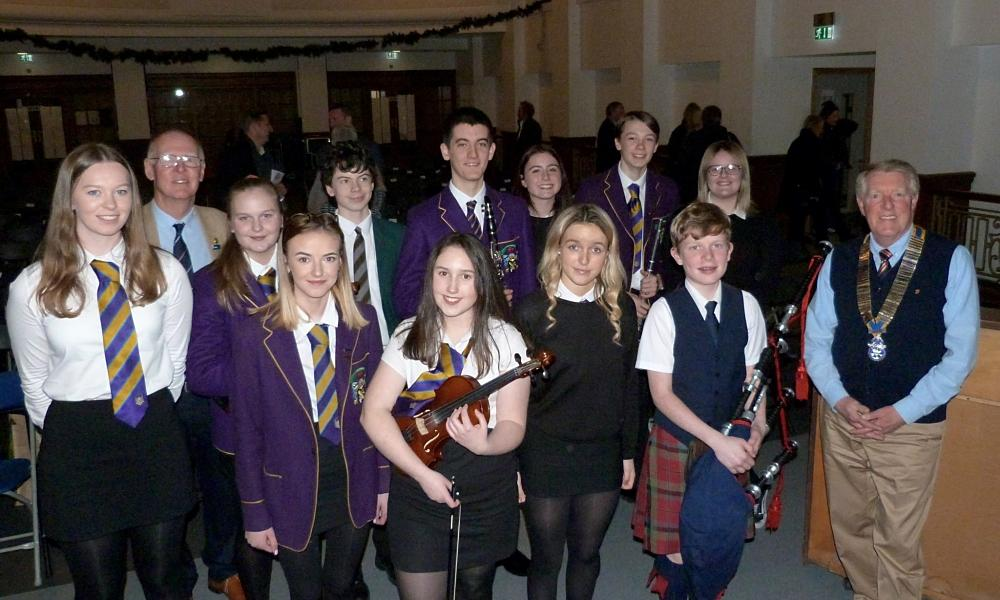 Young Musicians Competition 2019 - All eleven competitors