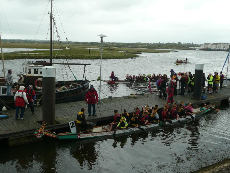 Dragon Boat Event - August 2014 - P1130552