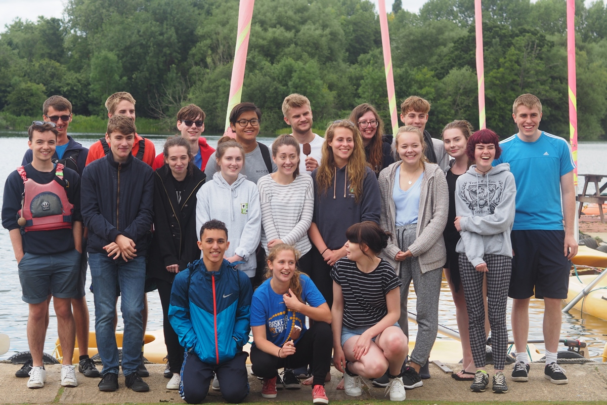 Princes Risborough School Rotary Interact Club spend a day sailing at Bury Lakes Young Mariners July 2017 -