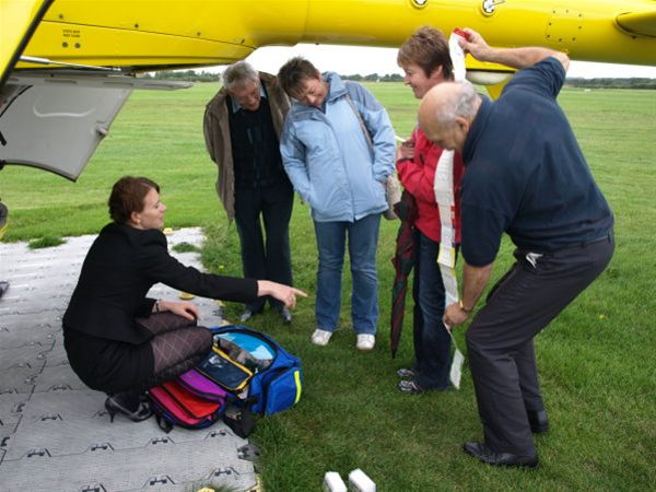 2011 - Visit to North West Air Ambulance -