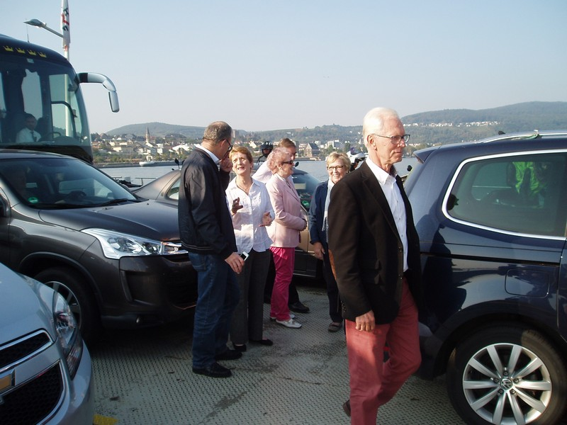 Exchange visit to our twin Rotary Club Russelshiem Main Spitze, Germany  - P9240010