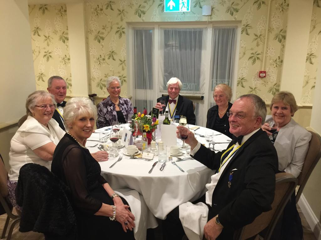 ROTARY CLUB CELEBRATES 90TH ANNIVERSARY - A BIT OF A PANTOMIME... -
