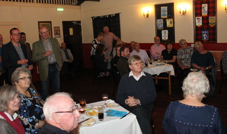 Presentation and Club Awareness Cheese and Wine Evening - Rotarians and Guests