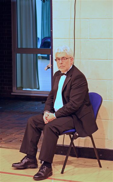 PROMS Concert 2009 - Rotarian Mike takes a deserved break