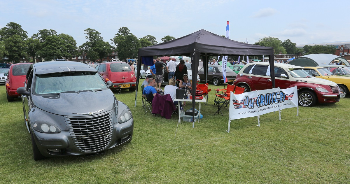 Doncaster Classic Car and Bike Show 2017 - PT Cruisers