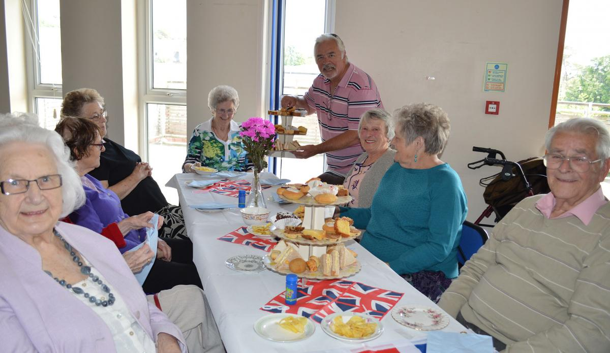 Llanelli Rotary holds Sapphire Tea Party for the elderly - Sapphire Party