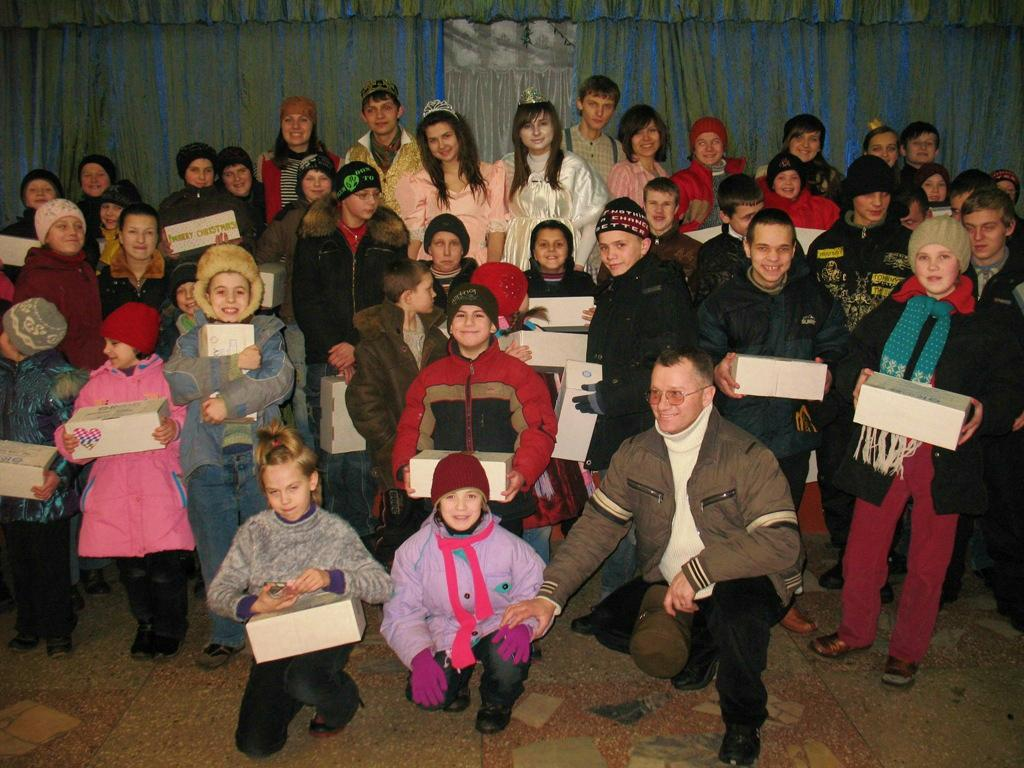Rotary Shoebox Scheme - A big occasion for all the children