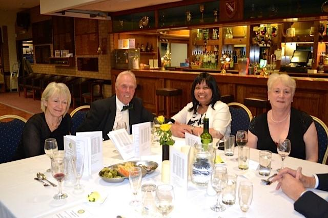 President's Night  - Pat Stringer David and Ella Mills and Mary Sackree