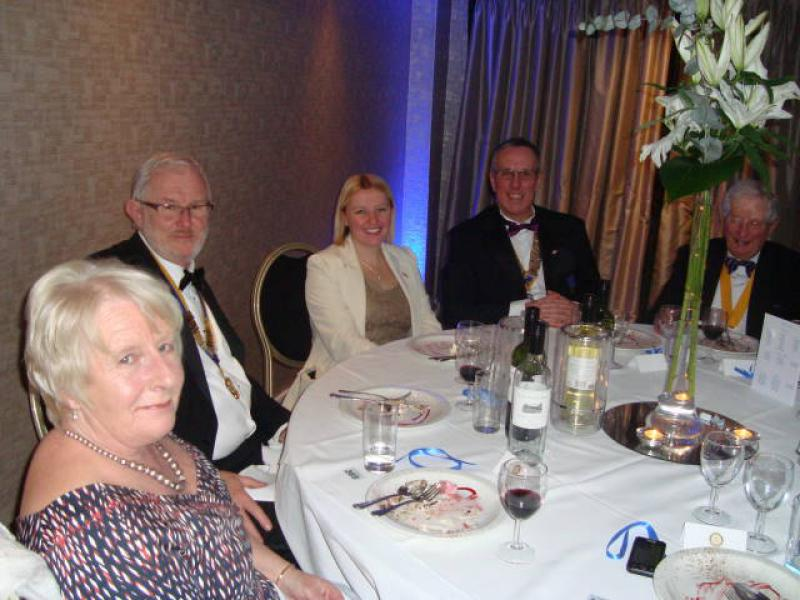 Joint Presidents Night 2014 - Pat & Rob Blair with Danielle & Mike Lynch