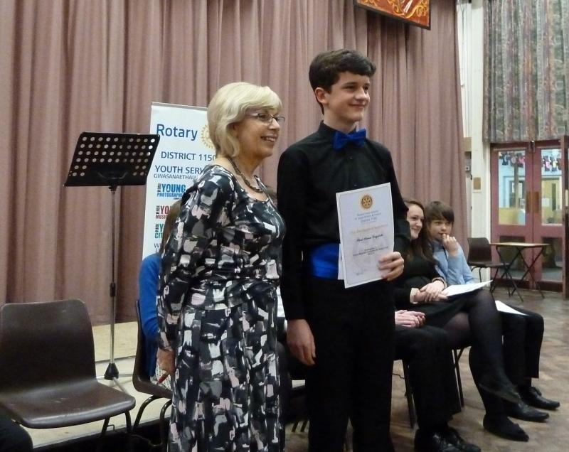 Young Musician competition 2014/2015 - Paul - winners cert