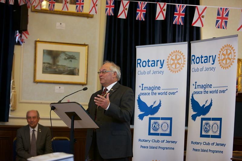 Jersey a Rotary Peace Community - Opens the proceedings