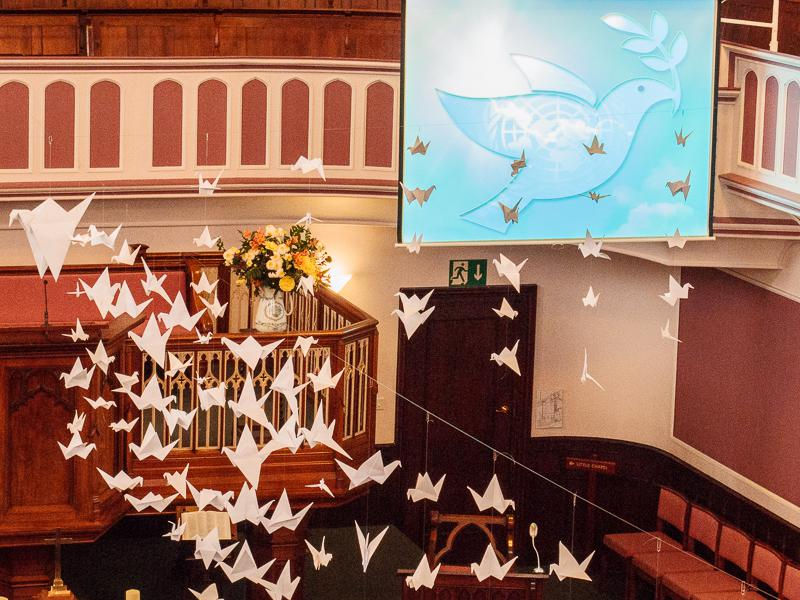 UN World Peace Day Service Sunday 21st September 2014. - United Nations World Peace Day Service 21st Sept 2014.
