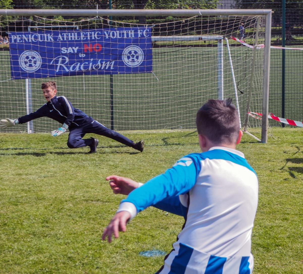 Penicuik in the Park 26th May 2018 - Beat the Goalie