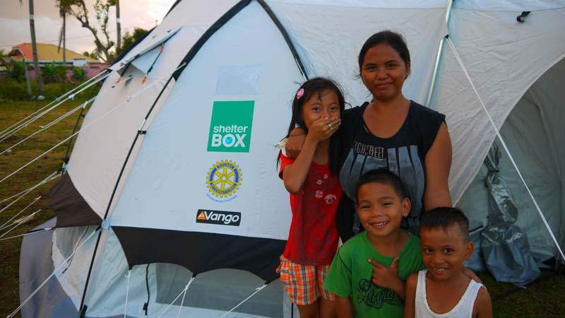 ShelterBox Disaster Response - Shelter and home for a family
