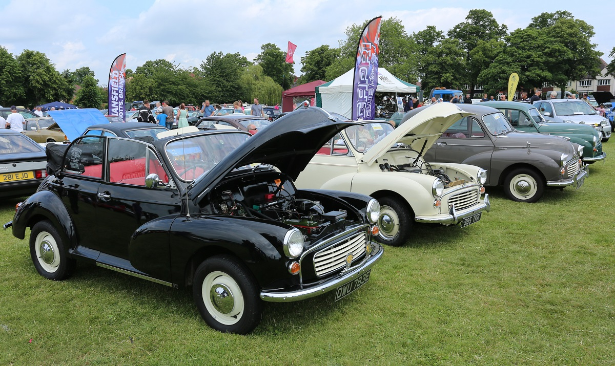 Doncaster Classic Car and Bike Show 2017 - Morris Minor