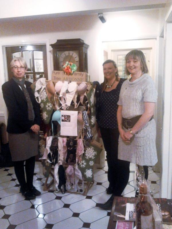 BUST -  help women in the 3rd world and breast cancer research. - Pictons Staff and their Bra Tree