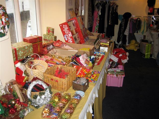 Club Christmas Charity Shop -