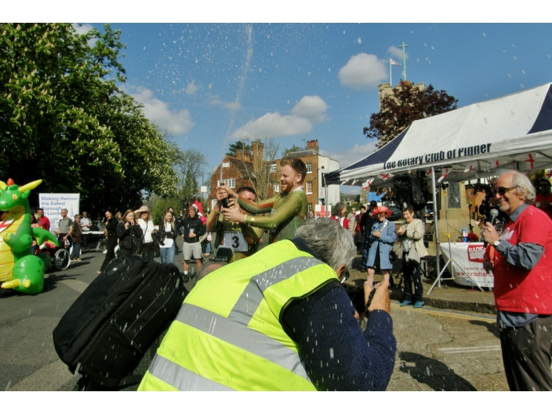 2017 St George's Day Photo Gallery - The champagne celebration!
