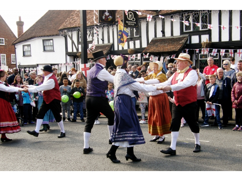 2017 St George's Day Photo Gallery - More folk dancing