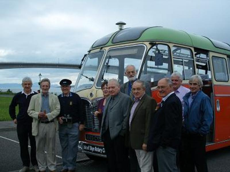 Archive of Skye Rotary Pictures - Classic Crew