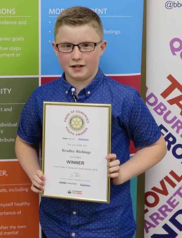 Cancelled Pride of Somerset Youth Awards 2020 -