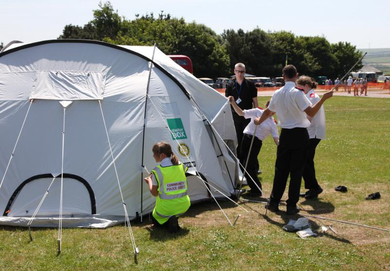 Wheels 2013 - Report and Slide Show - Police Cadets and Tent