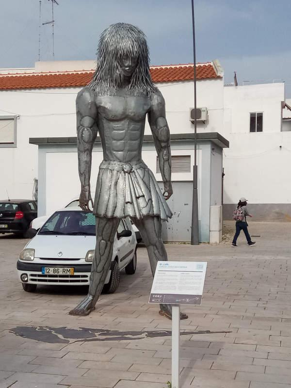 Visit to Rotary e-club in Olhao, Portugal in 2018 - A god from Olhao