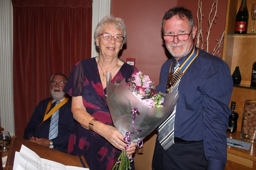 Handover - Flowers for Pat
