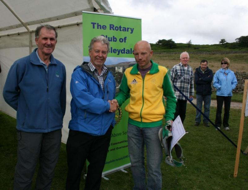 Herriot Run 2012 Report - Winning Man