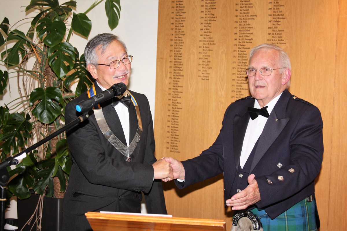 President John hands over to Yoon -