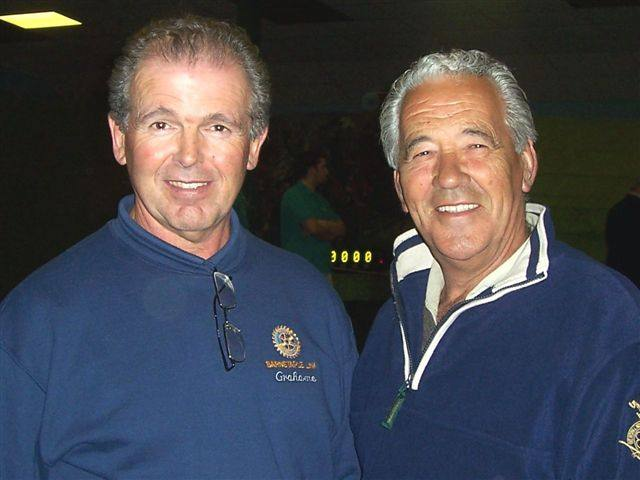 MILKY WAY 2007 - President Grahame and Milky Way owner Trevor Stanbury