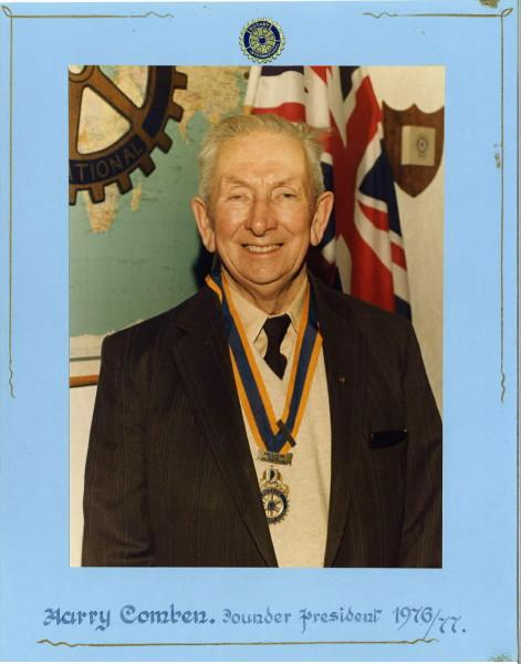 Past Presidents - Harry Comben