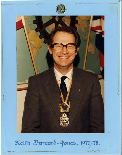 Past Presidents - Keith Barnard-Jones
