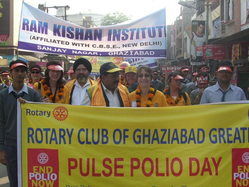 Foundation - Pulse Polio Day 1