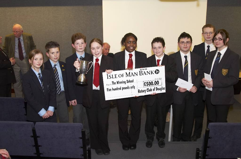Intermediate Public Speaking 2008 - The top three teams in the 2008 competition