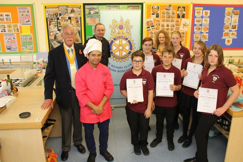 Young Chef at Richard Lander School 2015 - YC R Lander Nov 2015
