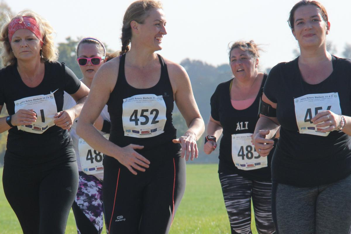 2016 Rotary Blenheim Run - Click for slideshow - What is better than a 10K on a sunny autumn day at Blenheim Palace.