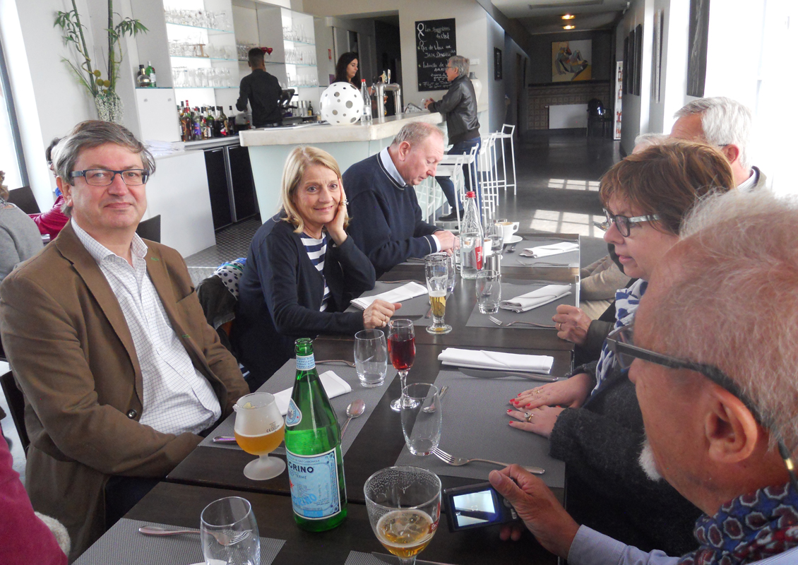 Fleet Rotary visit our French sister club -