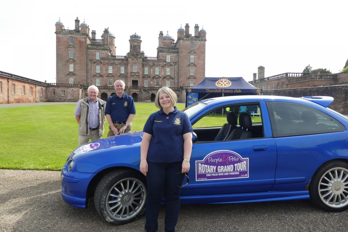 Rotary Purple4Polio Motor Tour of Britain. - RCBangor-1070719