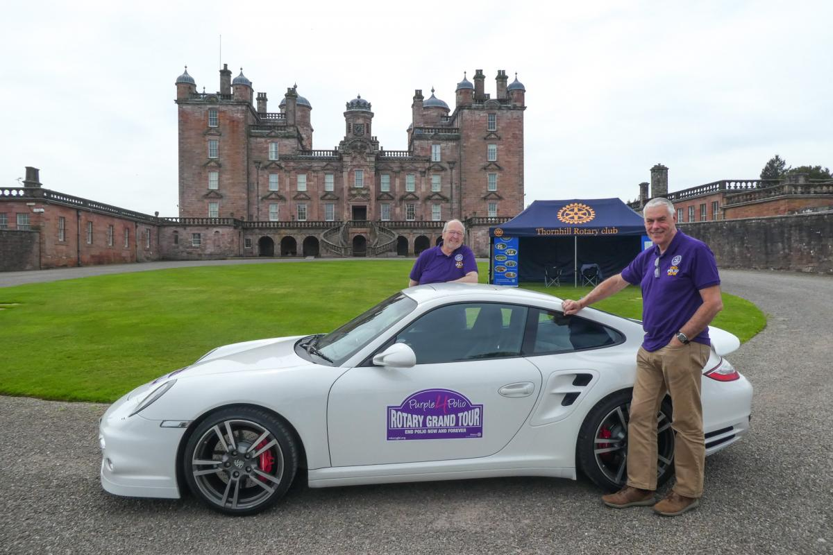 Rotary Purple4Polio Motor Tour of Britain. - RCDenby Dale-1070662
