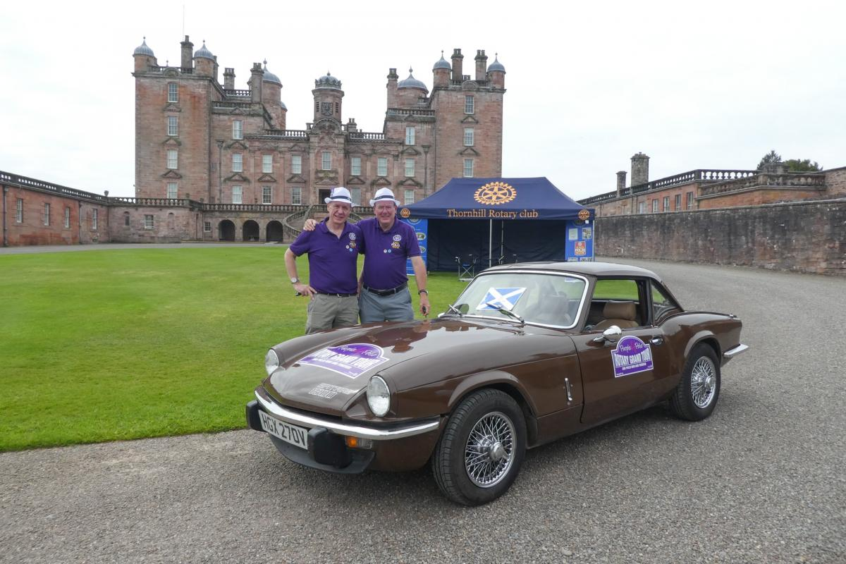 Rotary Purple4Polio Motor Tour of Britain. - RCPerthKinnoul-1070641