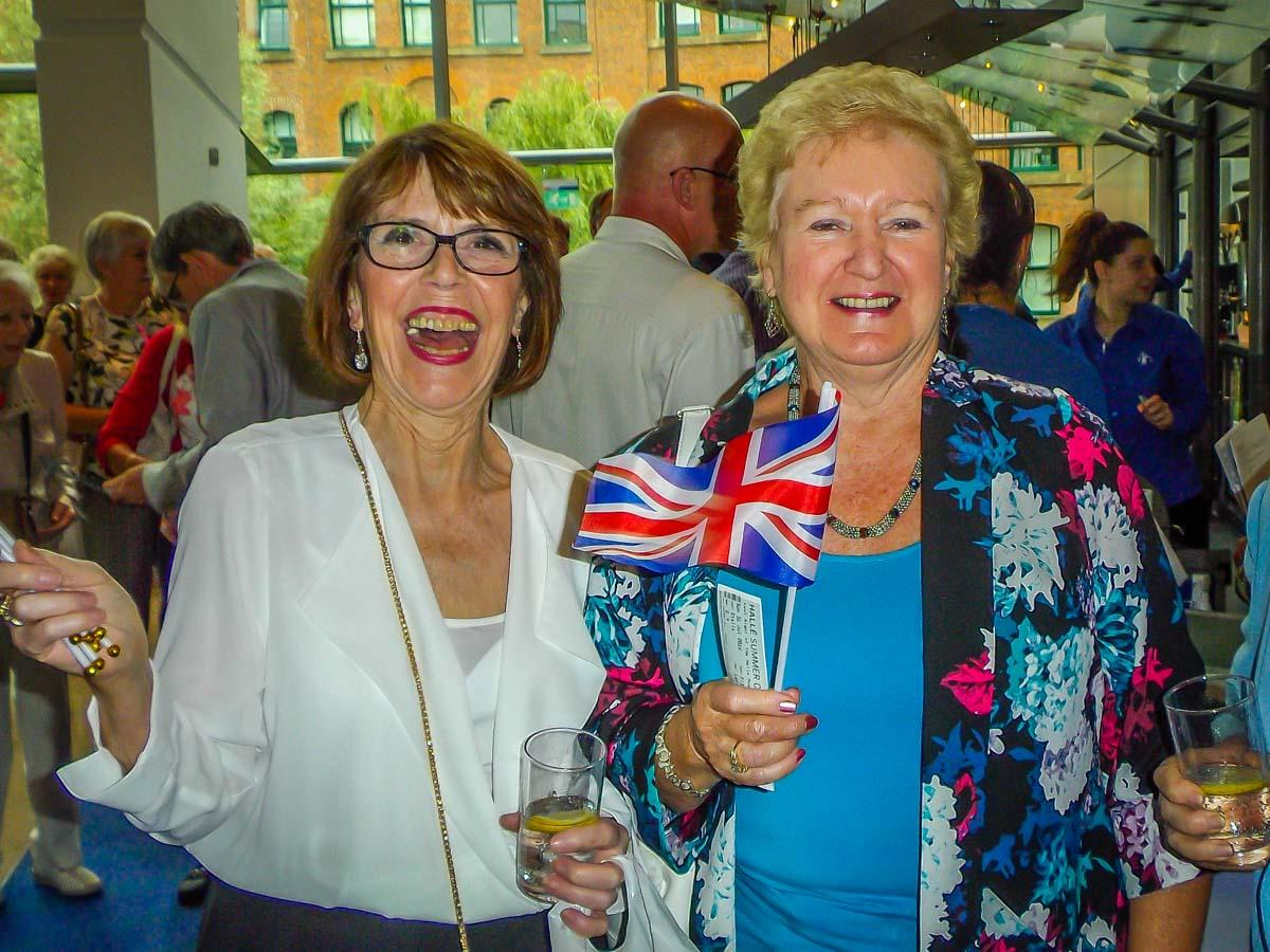 Last Night of the Proms - Bernice and Diane
