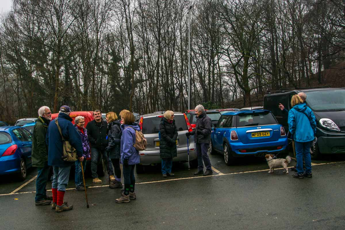 New Years Walk - Meeting in the car park