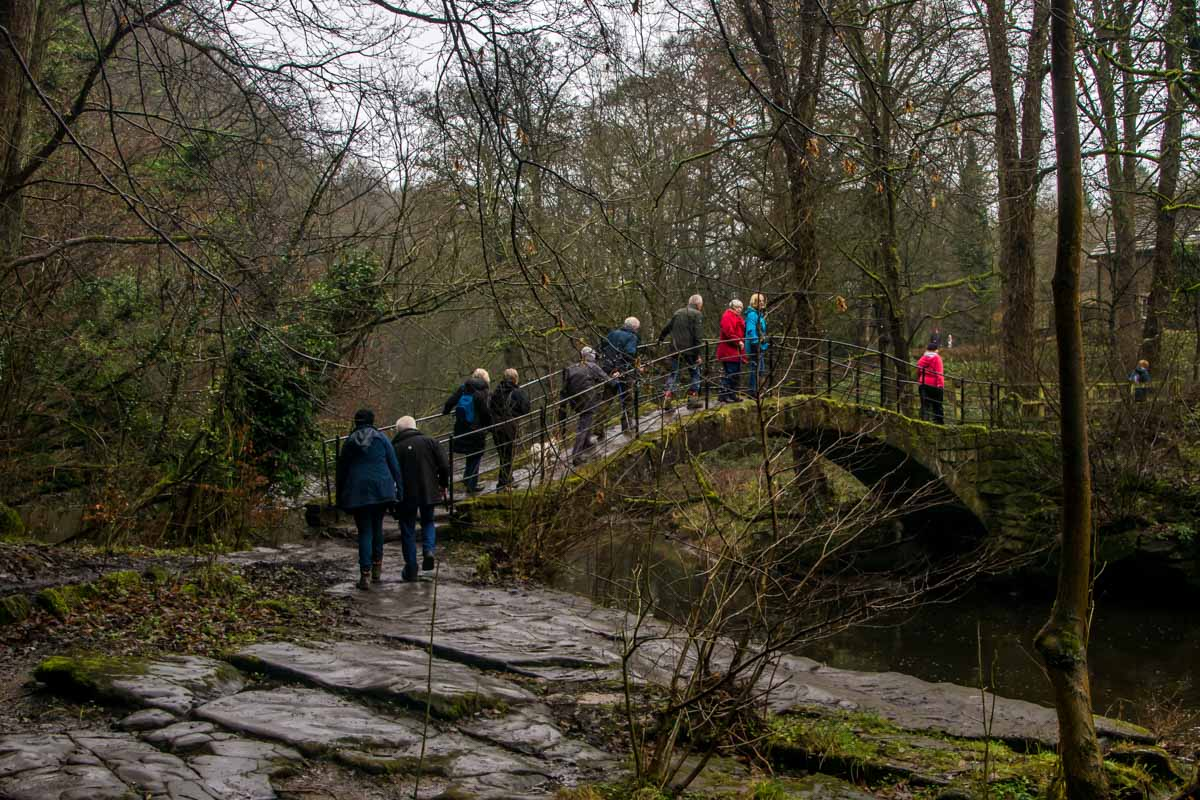 New Years Walk - The Roman Bridge.